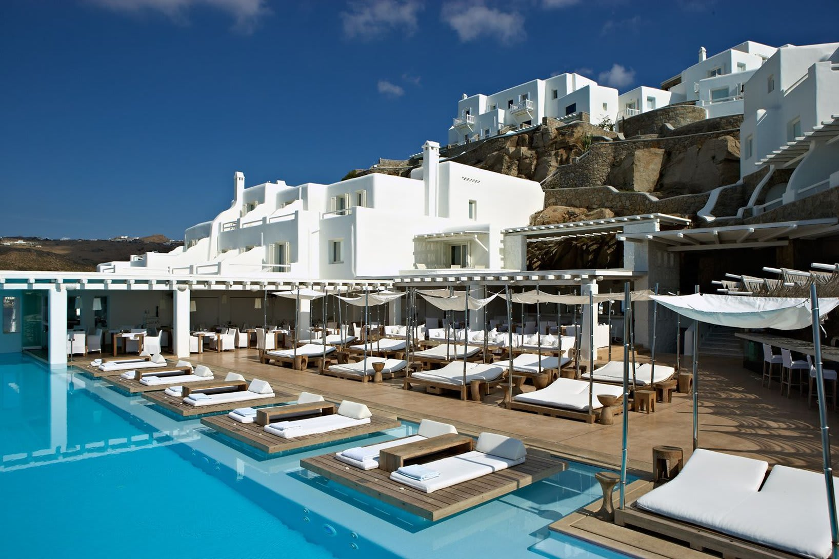 cavo tagoo mykonos - bookings pool